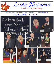 Click here to download May to June 2013 Newsletter