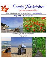 Click here to download July 2013 Newsletter