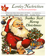 Click here to download the Dec 2013 to Jan 2014 Newsletter