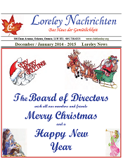 Click here to download December 2014 to January 2015 Newsletter